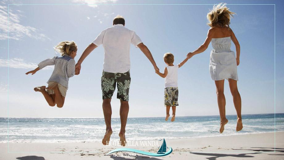 Una fuga fuori stagione con tutta la famiglia